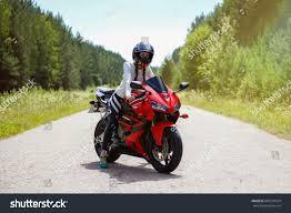 sport bike honda cbr krasnoyarsk russia july 12 2017 stock photo 684274324