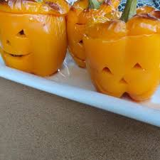 jack o lantern stuffed peppers recipe an jack o and jack o