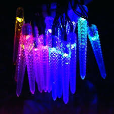 shooting star icicle lights led icicle christmas lights led icicle lights ge warm white led