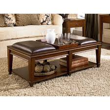 cushion top coffee table coffee tables ideas top cushion table ottoman with 6