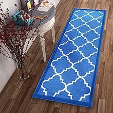 Thin Runner Rug Amazon Com Ottomanson Glamour Collection Contemporary Moroccan
