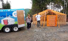 the mongolian yurt a beautiful and low cost tiny house