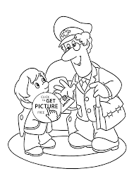 pat and letter to santa coloring pages for kids printable free