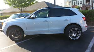 audi q5 rims and tires my silver hartmann rs4 rep wheels installed audiworld forums