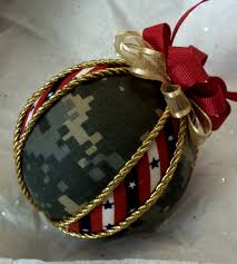 homemade ornaments a great gift for an army wife support our