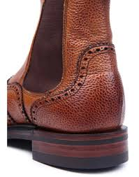womens chelsea boots cheaney s made in brogue chelsea boots