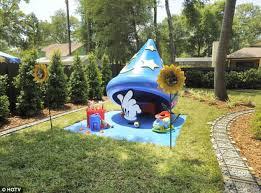 backyard theme park the quirky globe florida family turns back garden into disney