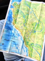 Big Sur Map Big Sur Through A Camera Lens The Journey Junkie