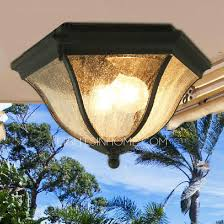 black glass shade exterior ceiling lights on sale