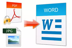 Convert Pdf To Word I Will Type Convert Or Rewrite Pdf Image Scanned 25 Page To Word