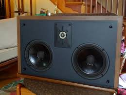 nice pair polk sda crs speakers w interconnect cable pics added