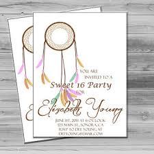 shabby chic sweet 16 party invitation from printablemotivation