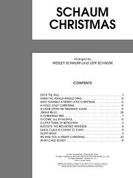 john w schaum piano course christmas by j w pepper sheet music