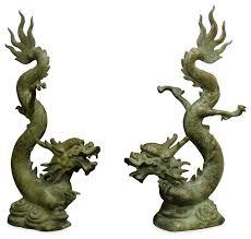 asian garden statues design foo statue white asian garden