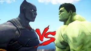 black panther hulk epic battle video dailymotion