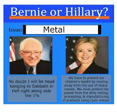 Heavy Metal Meme - is bernie sanders our guy metalmemes