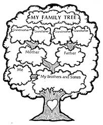 family tree coloring pages picture 1 550x666 picture my english