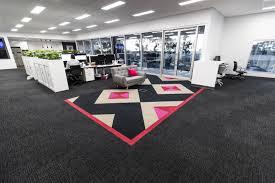 acoufelt scatter carbon black acoustic carpet tile sc04