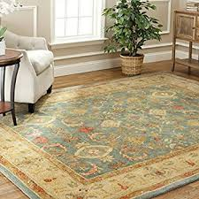 8x10 Wool Area Rugs Amazon Com Safavieh Heritage Collection Hg654a Handcrafted