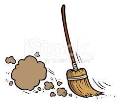 Broom Meme - sweeping broom clipart