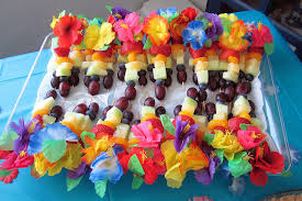 Tropical Party Themes - diddles and dumplings hawaiian party desserts