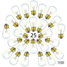 Bulbs For 25 Pack Of S14 Light Bulbs For String Lights