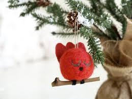 cardinal ornament tree decoration bird