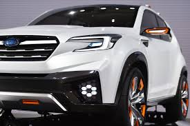 small subaru car subaru u0027s new 3 row crossover that replaces tribeca is coming in 2018