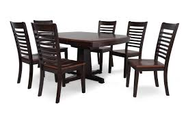 winners only santa fe seven piece dining set mathis brothers