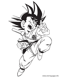 dragon coloring pages info kid goku coloring page free download