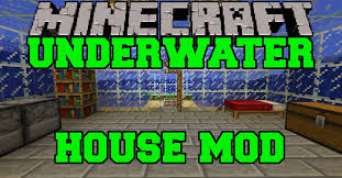 Home Decorators Games Minecraft Mod Showcase Instant Underwater House Mod Review