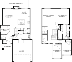 Castle Rock Floor Plans by Castlerock Lifestyle Mckee Homes
