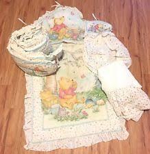 openbox disney playful pooh 3piece comforter crib bedding set ebay