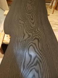 Slab Table Etsy by Ebonized Ash Live Natural Edge Slab Table By Natureedges On