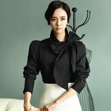 blouses with bows at neck fasicat vintage big bow blouse roupas femininas camisas