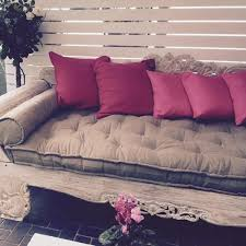 tufted wool filled daybed cushion u2013 home of wool