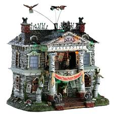 Halloween Village Decorations by Lemax Village Collection Halloween And Christmas Collectibles