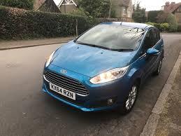 64 plate ford fiesta z tech blue 16 800 miles only cat d high spec superb