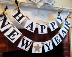 New Years Eve Banner Decorations by New Years Banner 2017 Banner Happy New Year Banner New