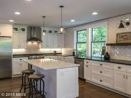Kitchen Cabinets Baltimore by Traditional Kitchen With Wall Sconce U0026 High Ceiling In Baltimore