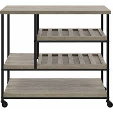 elmwood multi purpose cart sonoma oak walmart com