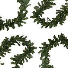 christmas garland battery operated led lights amazon com 9 x 10 pre lit battery operated pine christmas garland