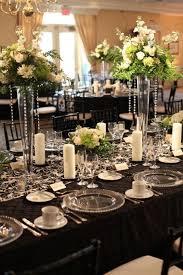 mariage baroque decor blanc et noir salle baroque salle baroque deco noir