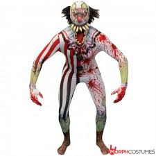 Scary Clown Halloween Costumes Men Scary Halloween Costumes Fancy Dress Morph Costumes Uk