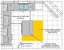 implantation cuisine en l implantation cuisine avec ilot central plan cuisine en l avec ilot