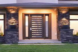 Plain Exterior Doors Gorgeous Modern Entry Doors With Sidelights With Plain Modern