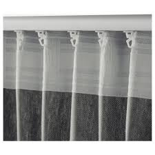 ingert curtains with tie backs 1 pair ikea