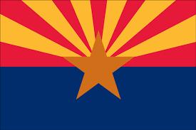 Red Orange Flag Arizona State Flag Flagnations