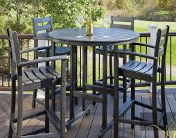 Tall Patio Furniture Sets - chic and stylish tall patio table u2013 outdoor decorations