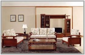 Simple Wooden Sofa Simple Wooden Sofa Sets For Living Room Home Design Ideas